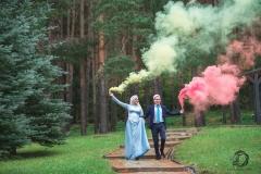 Сказочный дым!  Фотограф на никах Стерлитамак Лилия Арсланова Фотосъёмка никах Красноусольск nikah nikah photographe