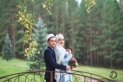 На мостике.  Фотограф на никах Стерлитамак Лилия Арсланова Фотосъёмка никах Красноусольск nikah nikah photographe