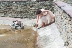 Невеста у фонтана. Свадебный фотограф Стерлитамак , свадебный фотограф Красноусольск, фотограф на свадьбу стерлитамак недорого, фотограф свадебный цена стерлитамак санаторий красноусольск