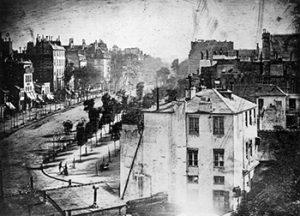 бульвар дю тампль фото история фотографии кратко