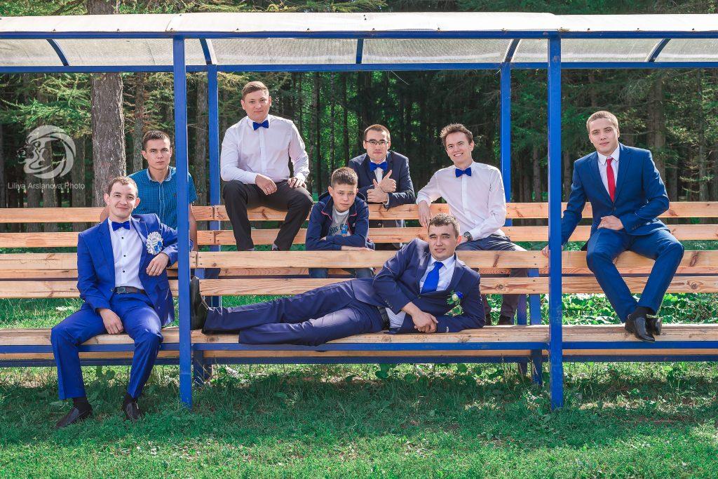 Друзья жениха фото, жених фото. фотограф на свадьбу, свадебный фотограф Красноусольск